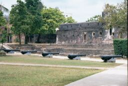 Inside Fort Jesus